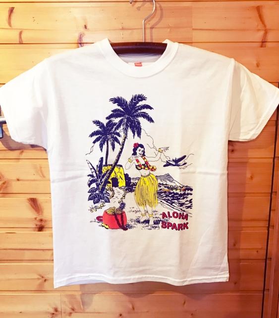 ALOHA SPARK Tシャツ